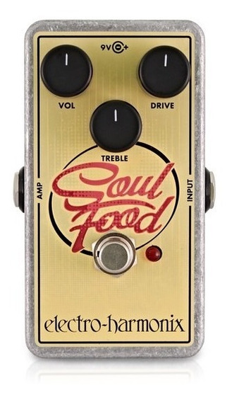 Pedal Ehx Soul Food Transparent Overdrive Electro Harmonix
