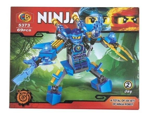 Bloco Para Montar Ninja 69 Peças - Jay 5373