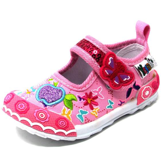 Zapatos Niñas Yoyo L3006 Azul 19-24. Envío Gratis