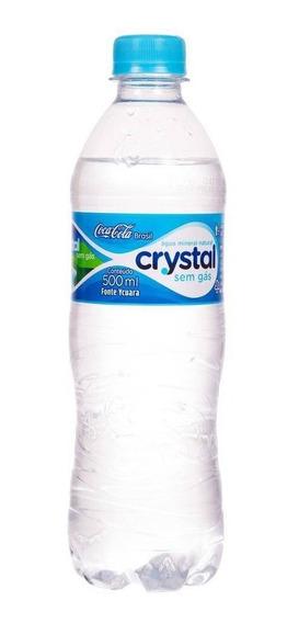 Kit C/ 20 Água Mineral Natural Crystal 500ml