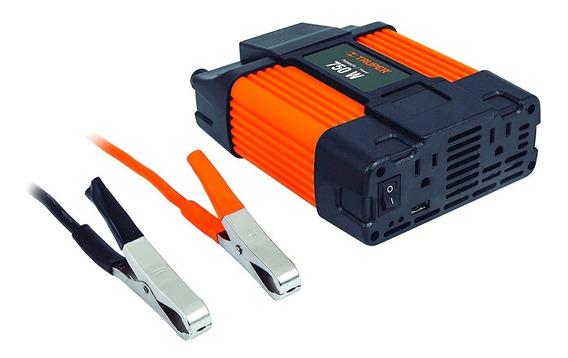 Inversor De Corriente Dual Truper Inco-750 Con Usb 750w