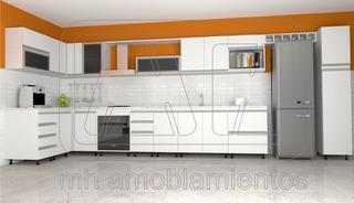 Mueble Cocina Melamina Precio Metro Lineal De Mano De Obra ...