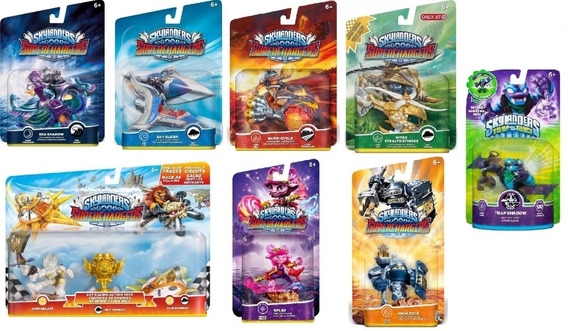 Pack 9x Skylanders Swap Force Trap Team Superchargers