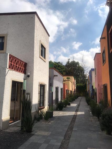 Casa Semi Amueblada En Renta En Coyoacán