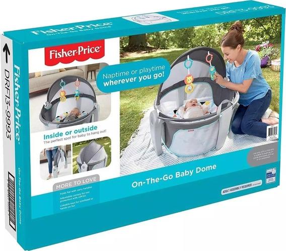 Fisher Price Cuan Portátil Plegable Para Bebé