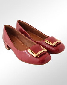 2f1e6c5af Scarpin Vermelho Feminino Scarpins Usaflex - Sapatos com o Melhores ...