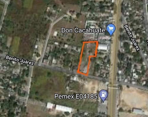 Imagen 1 de 7 de Oportunidad Terreno Comercial En Morelos Zona Sur