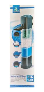 Filtro De Acuario Con Material Filtrante Sobo 1500 L/h