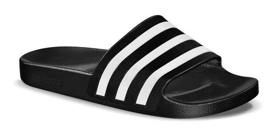 Sandalia Mule adidas Adilete Agua Mujer Negro Playa 2747460