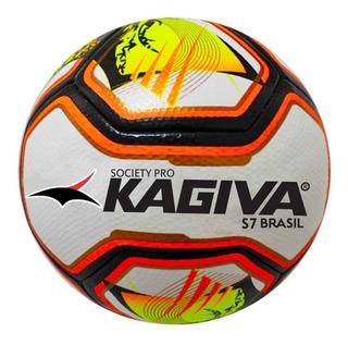 Bola Futebol Society Kagiva S7 Brasil Pro Top De Linha
