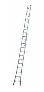 Escada Extensiva Dupla De 2x13 - 26 Degraus Alumínio 3 Em 1