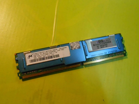 Memoria Micron Para Servidor Pc2-5300 Ddr2 2gb Ecc Server