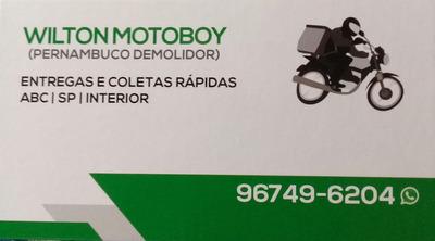 Wilton Motoboy Entregas Rapidas