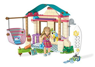 Mega Construx American Girl Lea.s Beach Hut Building Set