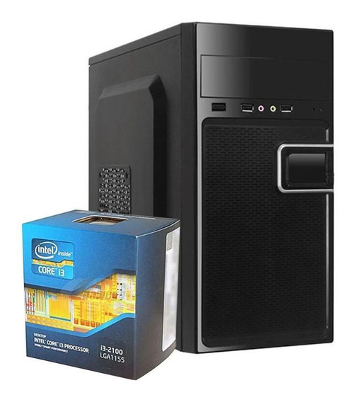 Computador Kit Work/home Intel I3 2100 8gb Hd 1000gb