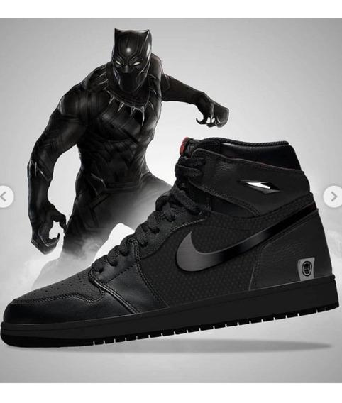 Tenis Nike Air Jordan Black Panther
