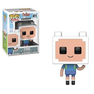 Funko Pop - Adventure Time - Finn - Minecraft #411