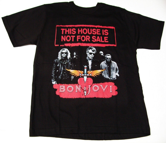 Remera Bon Jovi Talle X X X L ( 60 X 77 Cm ) Big Bang Rock