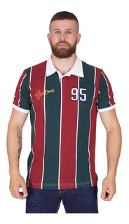 Camisa Fluminense Tricolor Retro Gol De Barriga 1995