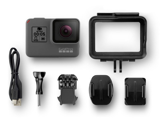 Câmera Gopro 5 Black + Bateria Extra + Bastão
