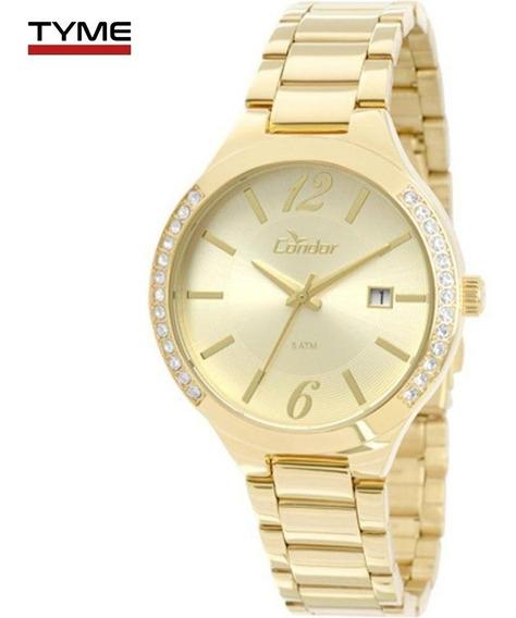 Relógio Condor Feminino Co2115to/4x Dourado - C/ Nota Fiscal