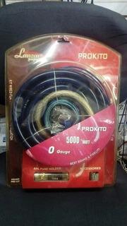 Kit De Cable 0 Lanzar Pro Sonido Profesional
