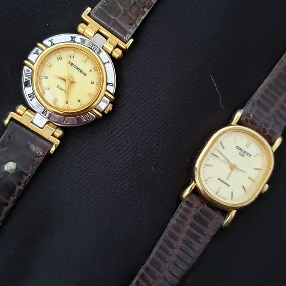 Relógio De Pulso Technos Orient Clássicos (lote 2pcs)