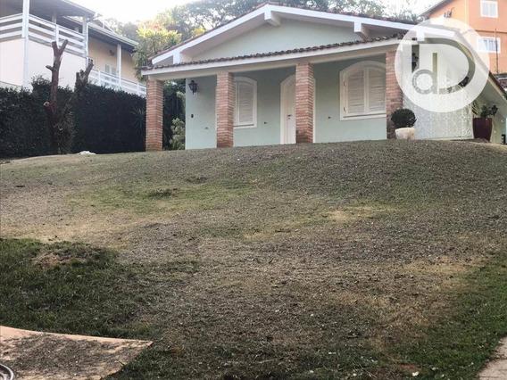 Casa Com 3 Dormitórios Para Alugar, 187 M² Por R$ 5.000,00/mês - Condomínio Marambaia - Vinhedo/sp - Ca1206
