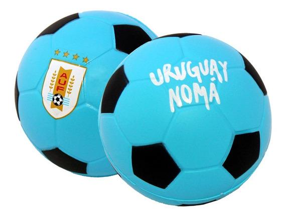 Pelota Anti Estrés Selección Uruguay Stress Oficial Mini