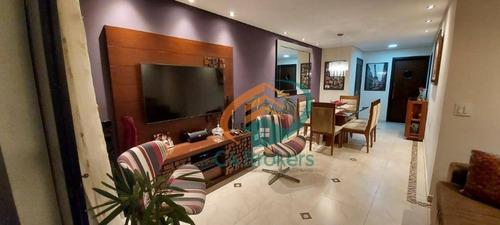 Apartamento Com 3 Dormitórios À Venda, 113 M² Por R$ 675.000,00 - Vila Zanardi - Guarulhos/sp - Ap3752