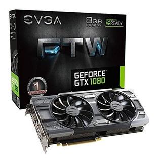 Evga Geforce Gtx 1080 Ftw Gaming Acx 3.0, 8gb Gddr5x, Rgb Le