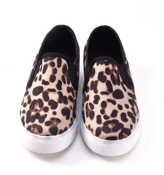 Zapatos De Mujer Casual Leopardo
