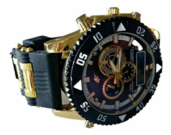 Relógio Masculino Potenzia 2x1 Militar Barato