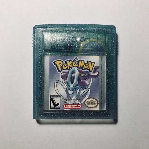 Cartucho Gbc Pokémon Crystal Original - Bateria Fraca