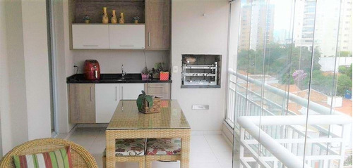 Imagem 1 de 10 de Apto Na Vila Prudente Com 3 Suítes, 2 Vagas, Varanda Gourmet, 133m² - Ap14559