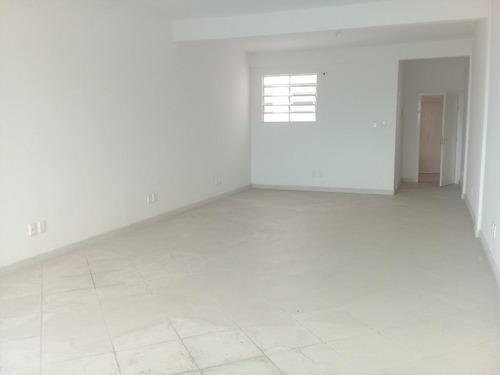 Sala Comercial Para Alugar, 50 M² Por R$ 1.400/mês - Centro - Santos/sp - Sa0140