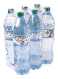 Agua Mineral Villavicencio Sin Gas 1.5 Lts Pack X 6 Unidades