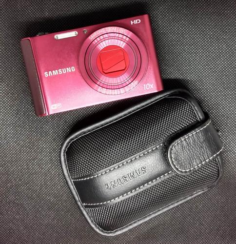 Câmera Fotográfica Smart Samsung St200f Com Bateria Extra