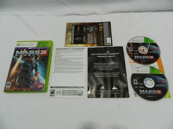 Mass Effect 3 Original Xbox 360 Mídia Física - Na Caixa