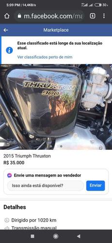 Imagem 1 de 2 de Triumph Thruxton