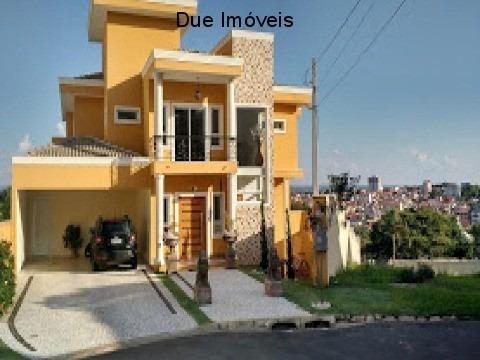 Belíssima Casa Em Condomínio Em Indaiatuba - Ca01956 - 68097254