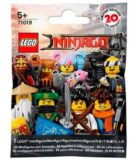 Lego Ninjago Movie Minifiguras 71019