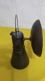 Antigo Lampião De Metal