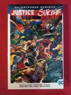 Justice League Vs Suicide Squad. Dc Cómics, Deluxe.