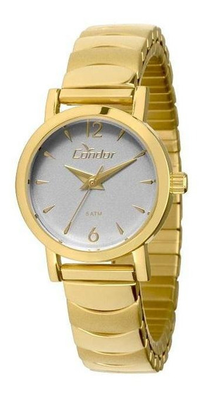 Relógio Condor Feminino Pequeno Dourado Co2035knb/4c