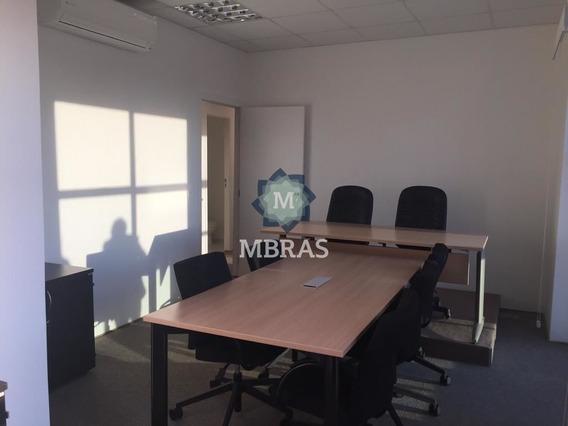 Sala Comercial|capital Corporate|duplex|locação|mobiliada|brooklin|130 M2 2|vagas - Mb6242