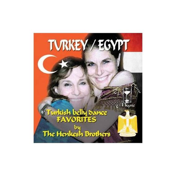 Henkesh Brothers Turkey Egypt Turkish Belly Dance Favorites
