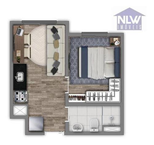 Apartamento À Venda, 24 M² Por R$ 175.000,00 - Belenzinho - São Paulo/sp - Ap2800