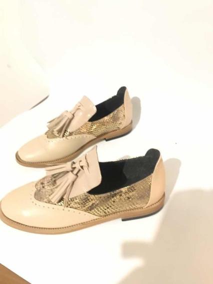 Zapatos Para Mujer Tipo Boston Hechos A Mano