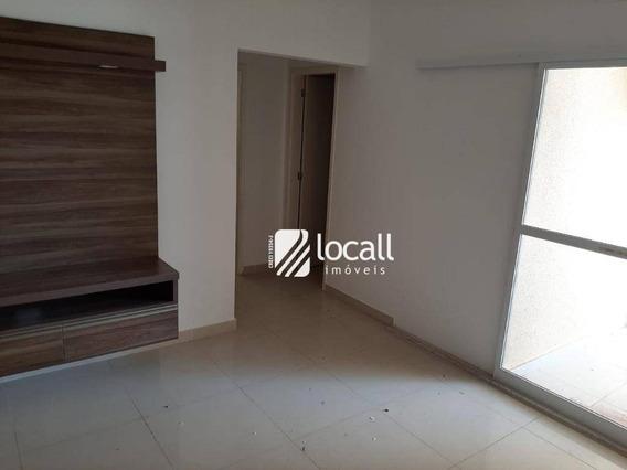 Apartamento Com 2 Dormitórios Para Alugar, 67 M² Por R$ 1.400/mês - Jardim Maracanã - São José Do Rio Preto/sp - Ap1964